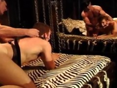 bodybuilder daddy acquires bj,fucks muscle guy