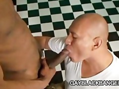 latino muscled dilf permeated by large darksome