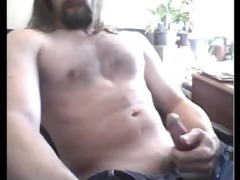 str2 furry chested daddy discharges a precious
