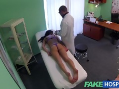fakehospital doctor gives a strong agonorgasmos