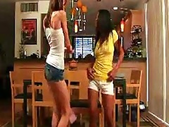 brooke skye and kat juvenile pantie dance