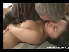 glamorous oriental lady screwed by old dude juc695