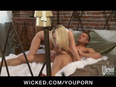 cute juvenile blond girlfriend caught fucking her