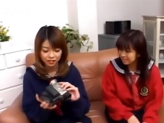 35 years old japanese teenie on the couch