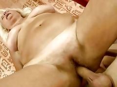wicked old bitch getting drilled hard