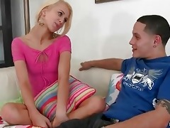 young schoolgirl cassie lynn pick up a bloke
