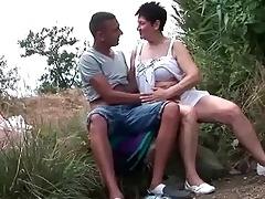 breasty grandma fucking her juvenile boyfriend