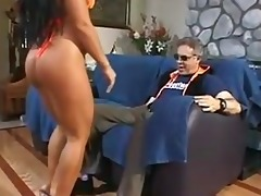 sexy sweetheart makes old dude happy