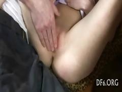 virgin hotty masturbates