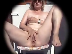 106 year old wife masturbates on the balcony