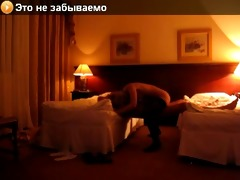 non-professional hotel sex. ukrainian model with