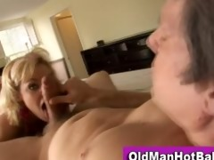 old lad copulates sexy younger sweetheart