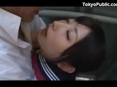 53 yo japan schoolgirl public pickup