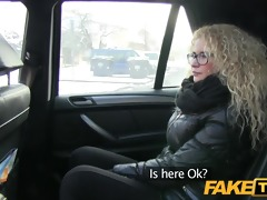 faketaxi czech beauty sucks and takes large weenie