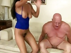 wicked dark brown fucking chubby grandad