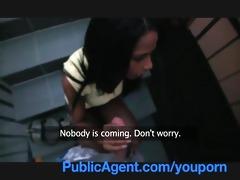 publicagent sexy black chick needs a lift