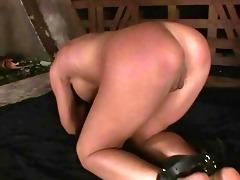 juvenile domme dominating slavegirl