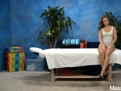 cute 42 year old massage therapist sasha gives a