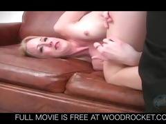 sexy youthful golden-haired drilled by doctor jock