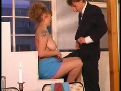 euro honey seduces younger chap - dbm movie