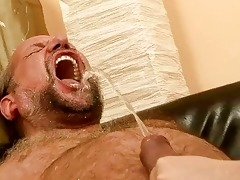 grandad fucking and pissing on wicked redhead