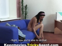 tricky agent - a legal age teenager receives