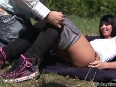legal age teenager nikki receive drilled and