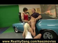 excited breasty horny hotties eden adams &