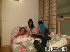pretty legal age teenager cutie acquires beefy