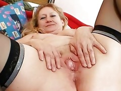 impure old grandma bawdy cleft widening and