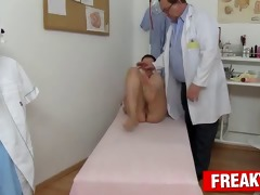 sexy tarya king and old gynecologist