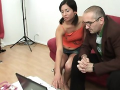 hottie acquires sexy fucking lesson