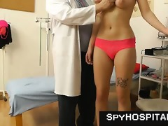 old gyno doctor sets up a hidden web camera