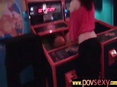 very hot girlfriend weenie blowing and fucking 911